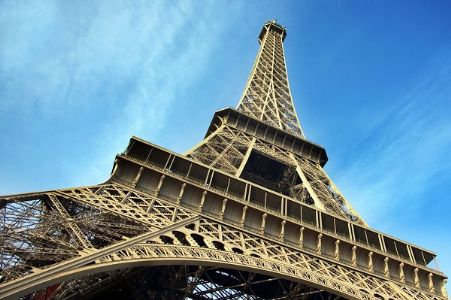 Eiffel Tower says 'Merci' to health workers