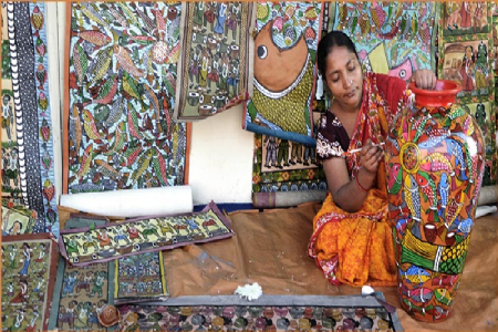 The boon in handicraft industry